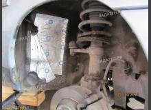 Шумоизоляция арок ВАЗ 2110 (внешняя)