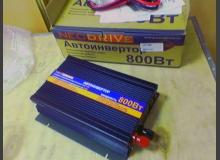 Установка инвертора в ВАЗ 2110