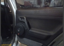 Установка динамиков в задние двери ВАЗ 2110
