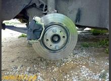 Установка тормозных дисков R15 на ВАЗ 2110